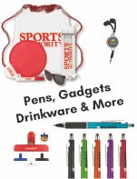 Pens / Drinkware / Cool Gadgets/ Golf